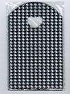 Traktatie-zakjes-20x13cm-(150-stuks)-zwart-wit-kleine-blokjes-cadeautasjes-kleine-plastic-tasjes