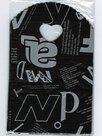 Traktatie-zakjes-20x13cm-(150-stuks)-Zwart-met-zilveren-letter-cadeautasjes-kleine-plastic-tasjes