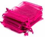 Kleine-organza-zakjes-fuchsia-roze-5x7-cm-100-stuks