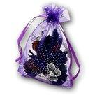 Organza-zakjes-paars-met-vlinders-11x16-cm-100-stuks-cadeauzakjes