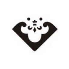 hoek pons 2,5 cm wapenschild