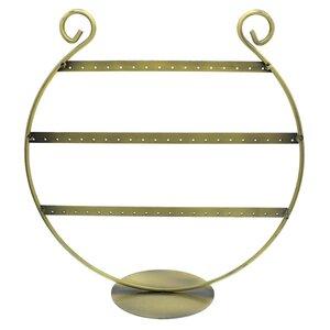 Oorbellenrekje harp brons