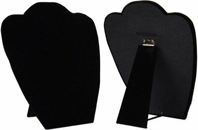 Hals inklapbaar zwart 22 cm
