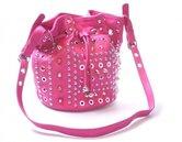 roze tas met studs